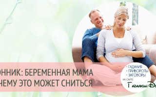 К чему снится беременность мамы