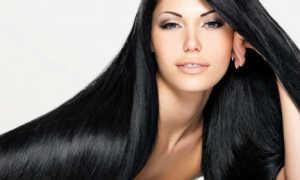 Сонник — черные волосы